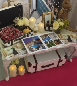 DEC stand on National Wedding Fair - Licitar hearts