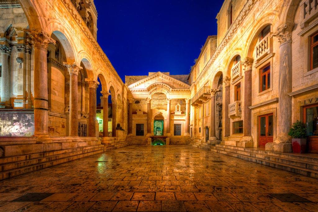 Split Diocletian Palace Croatia