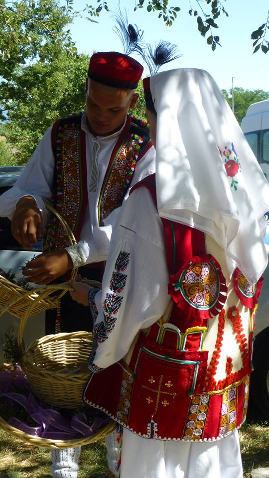 Stunning traditional dress from this region of Croatia