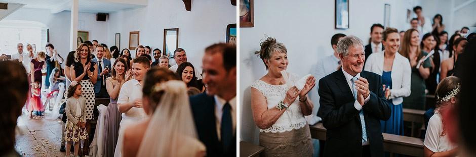 wedding in dalmatia church