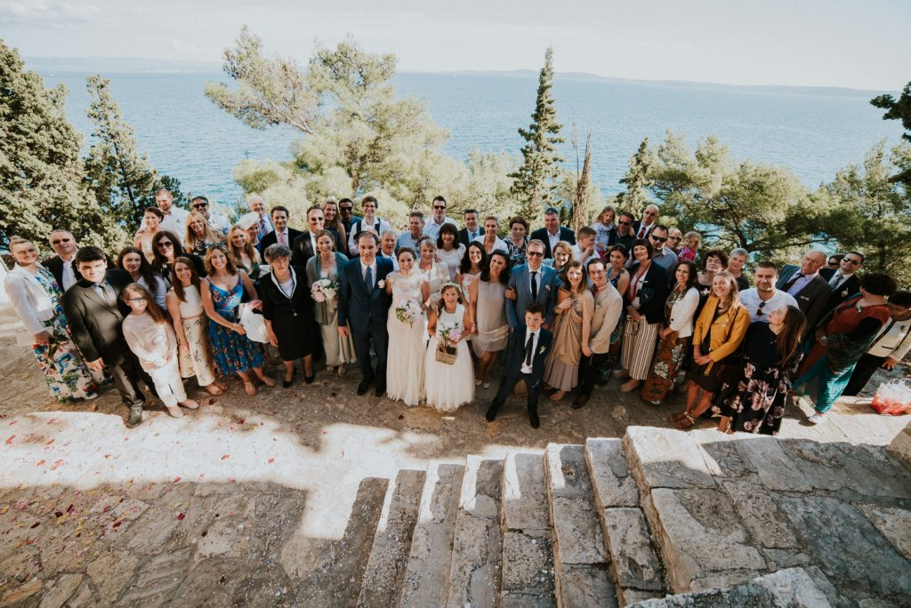 The wedding by the sea