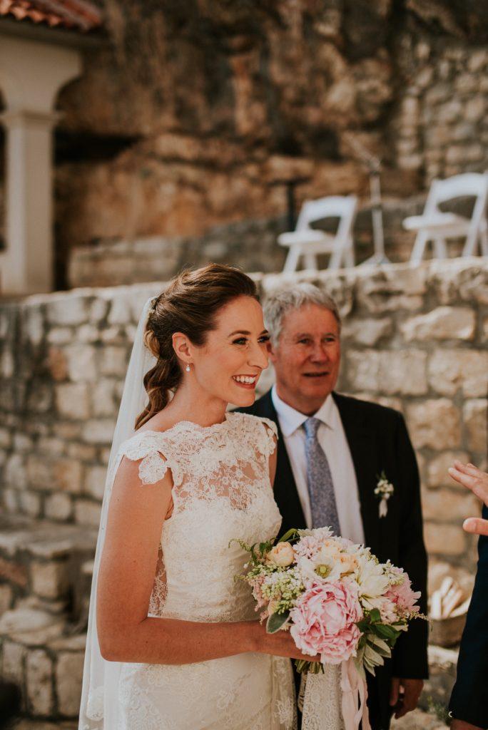 Wedding Croatia Bride Father