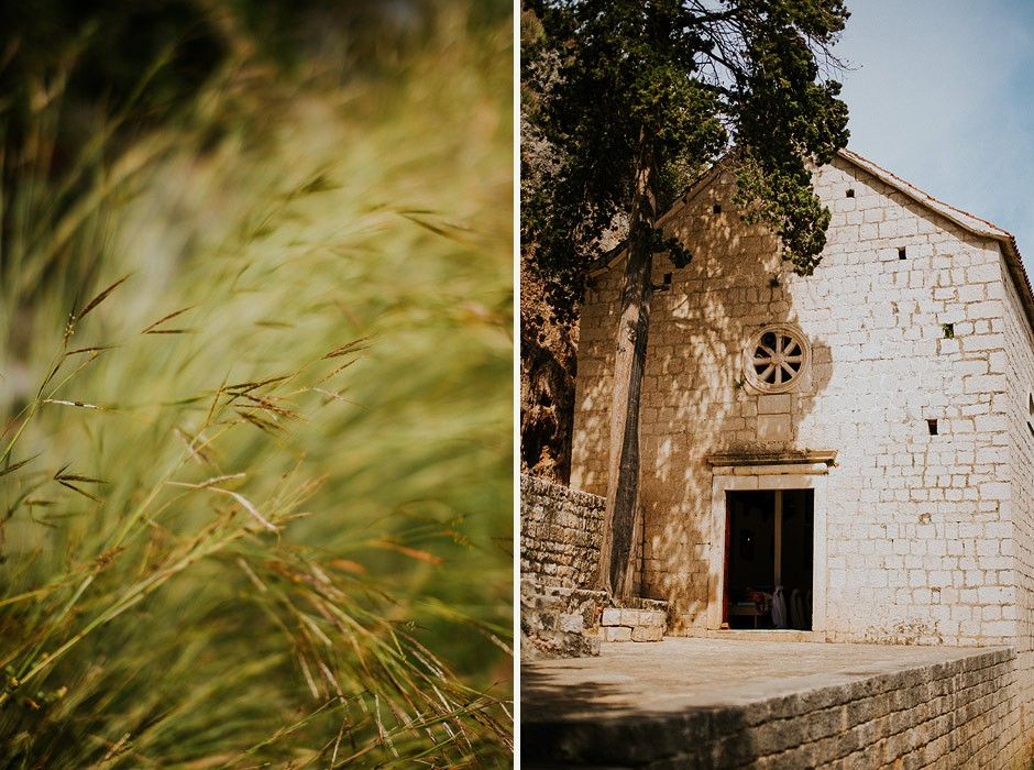 gospa od prizidnice wedding in dalmatia